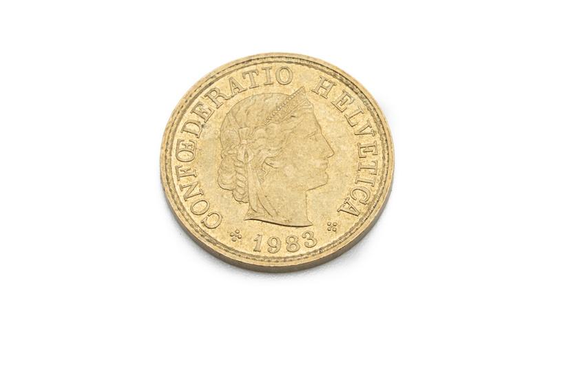 Unechte Goldmünze