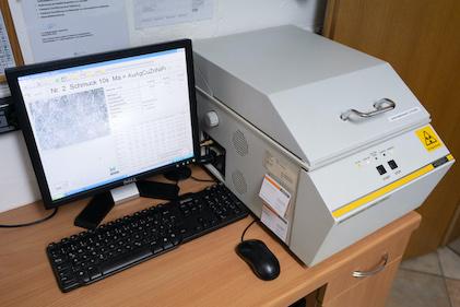 röntgenfluoreszenzanalyse gerät